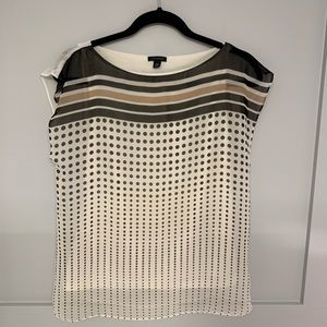 Ann Taylor Shirtsleeve Top